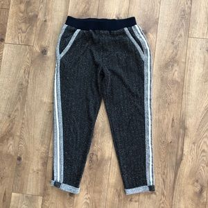 Anthropologie Varsity Joggers